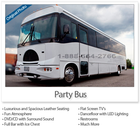 Party Bus (32 to 34 Passengers)